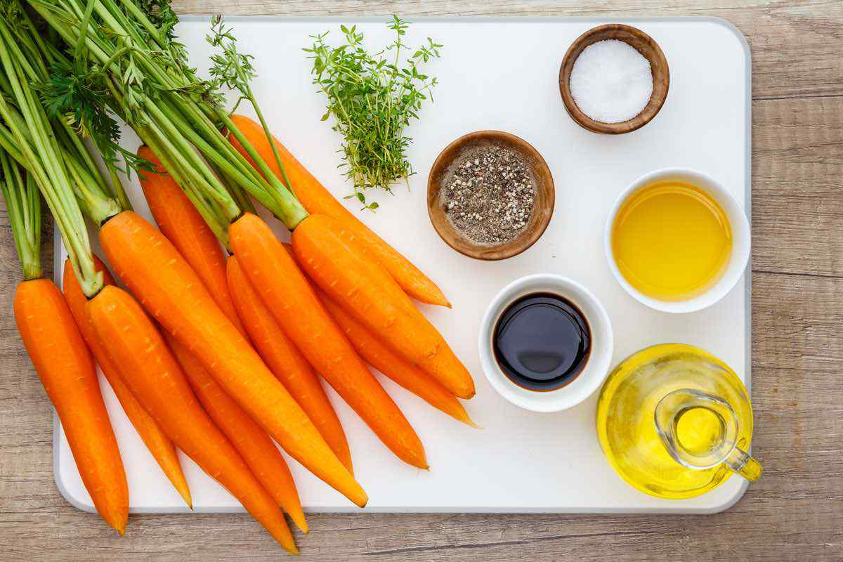 Honey-Balsamic Roasted Carrots