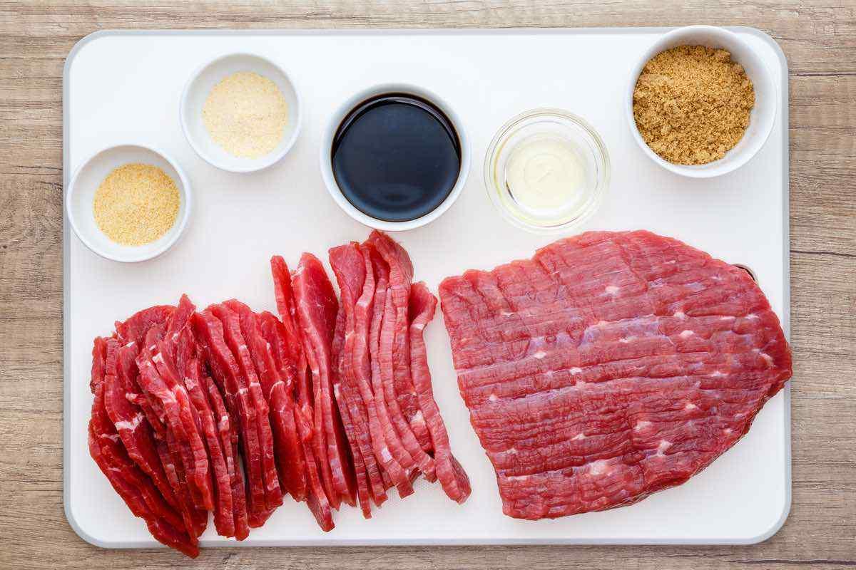 Homemade Korean Beef Jerky