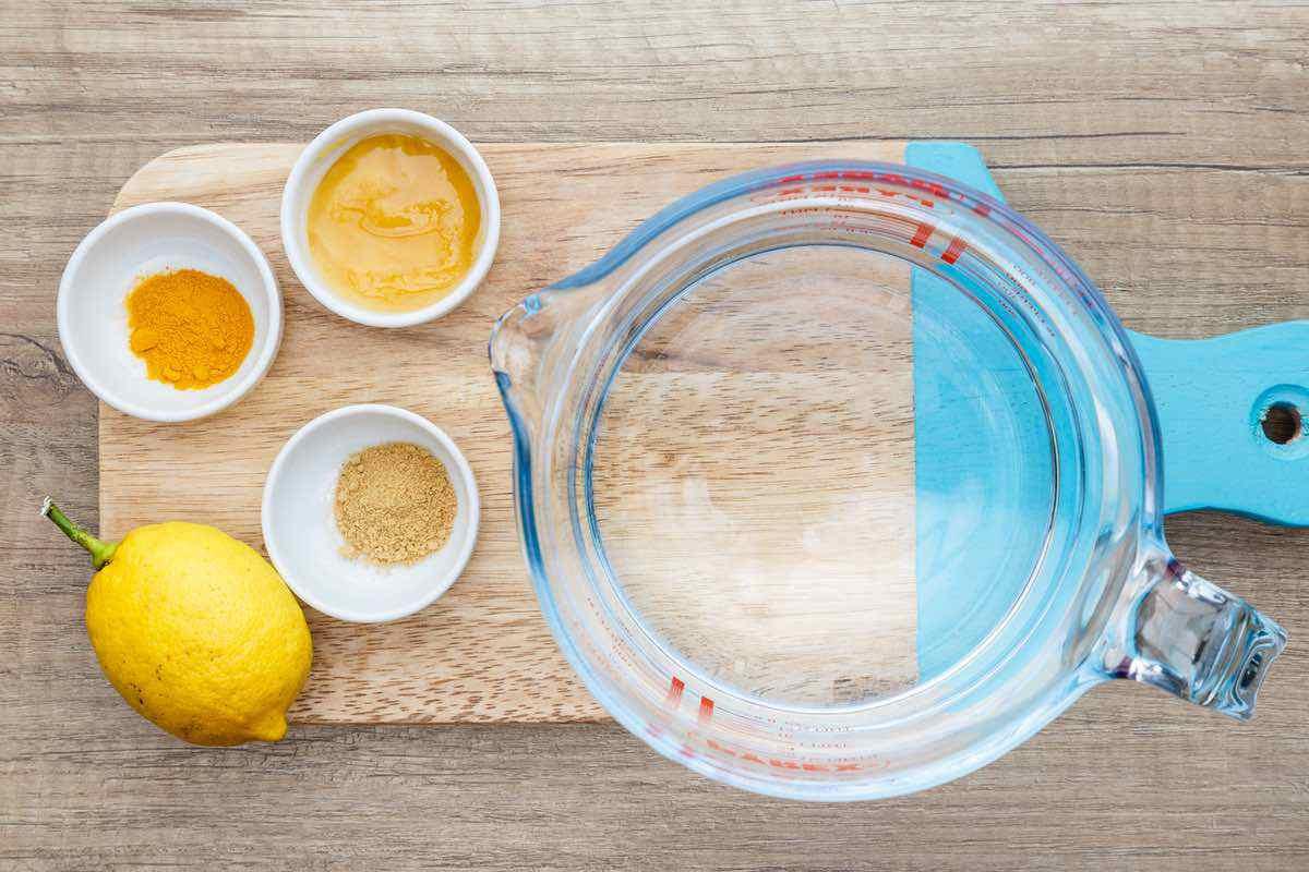 Turmeric Powder Ginger Tea Recipe