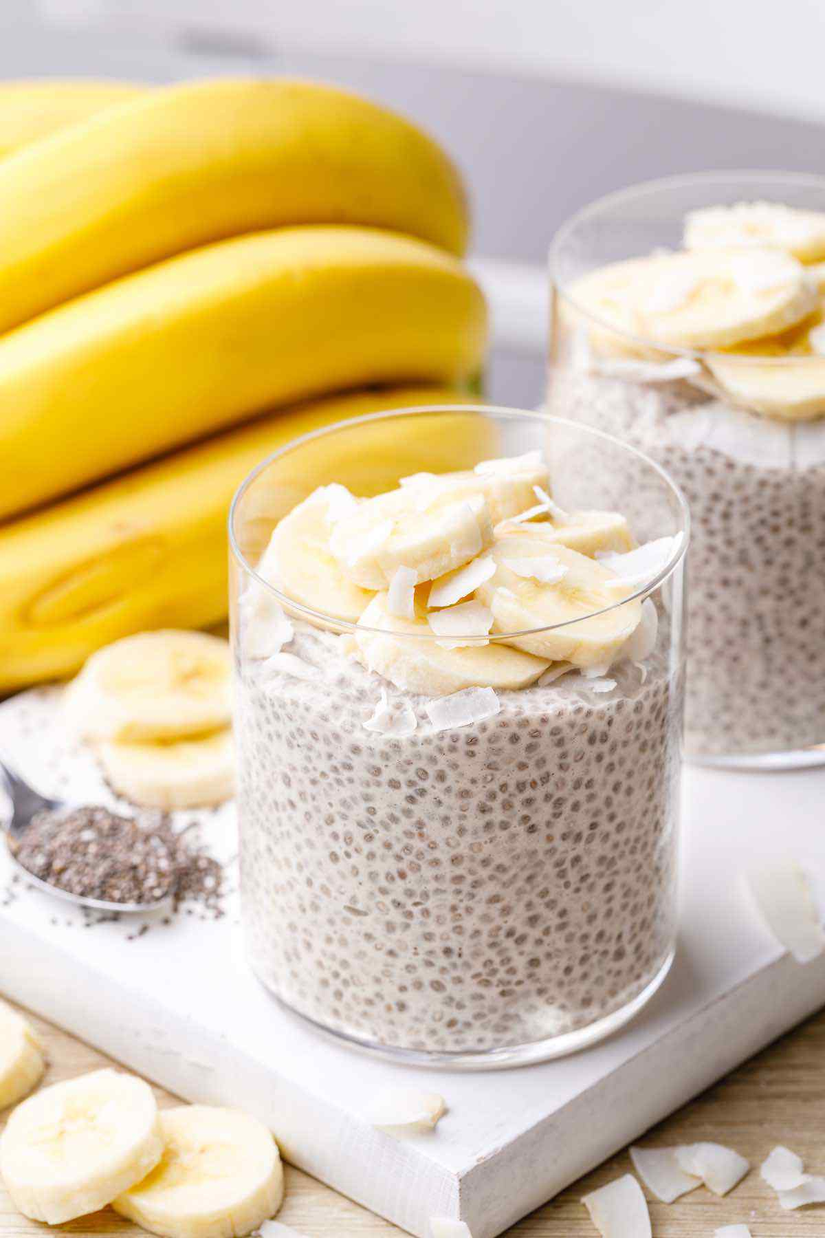 Banana Cream Pie Chia Seed Pudding