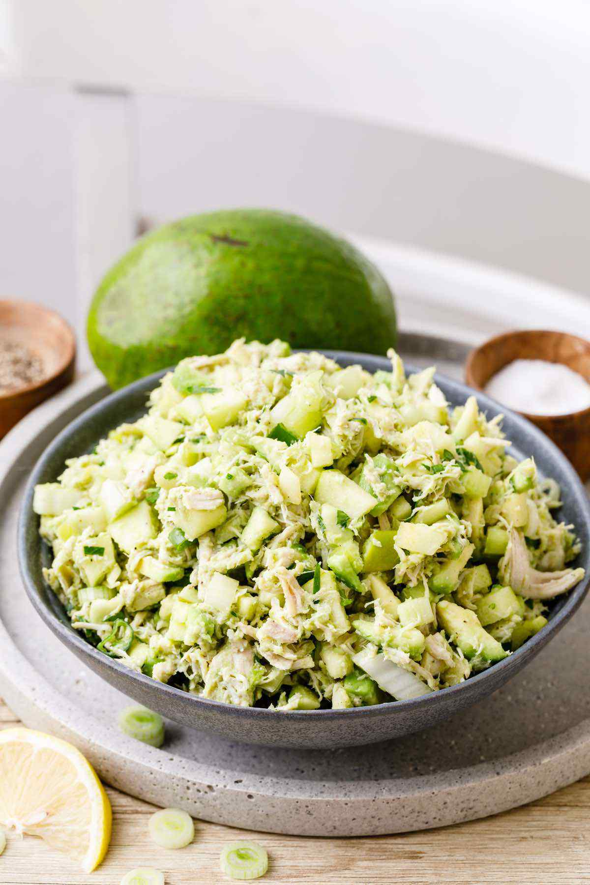 Avocado Chicken Salad Without Mayo