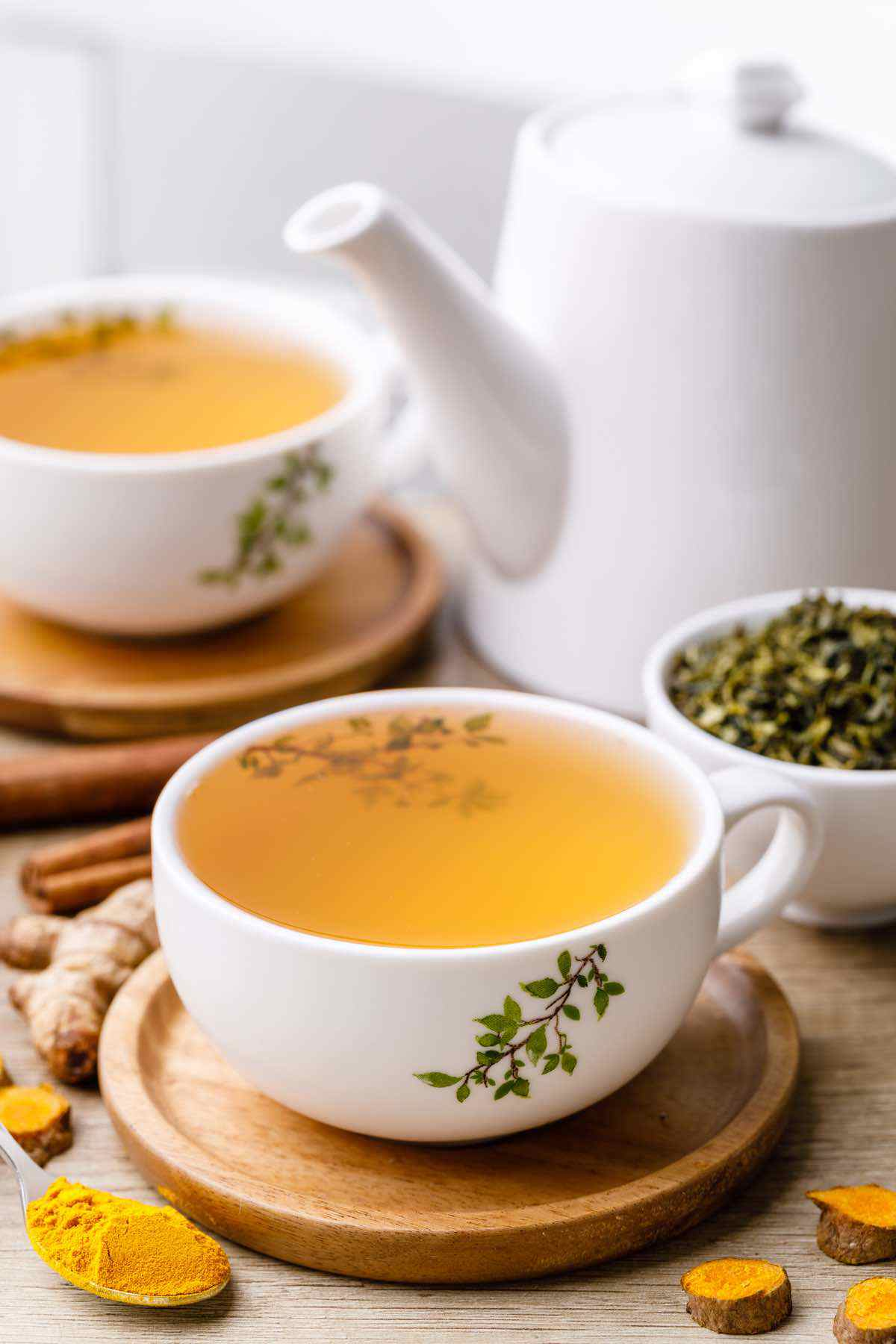 Turmeric Green Tea for Weight Loss