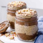 Overnight Chocolate Peanut Butter Chia Seed Pudding