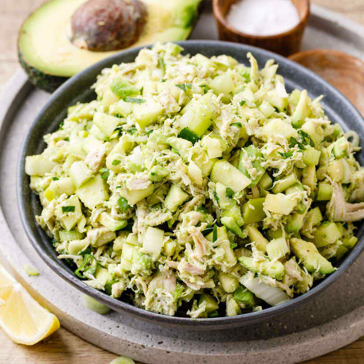 The Best Chicken Salad Recipe Ever Tip Replace Mayo With Avocado Healthy Substitute