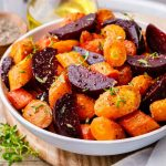 Sheet Pan Roasted Carrots and Beets