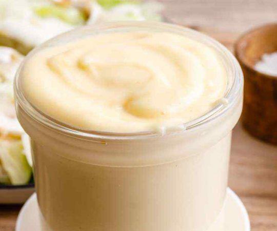 Homemade Avocado Oil Mayo