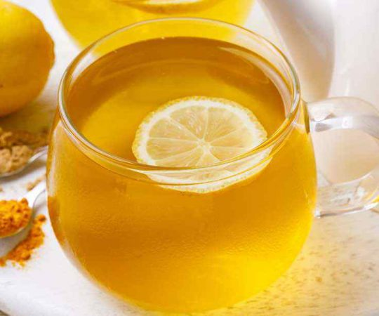 Turmeric Powder Ginger Tea Recipe