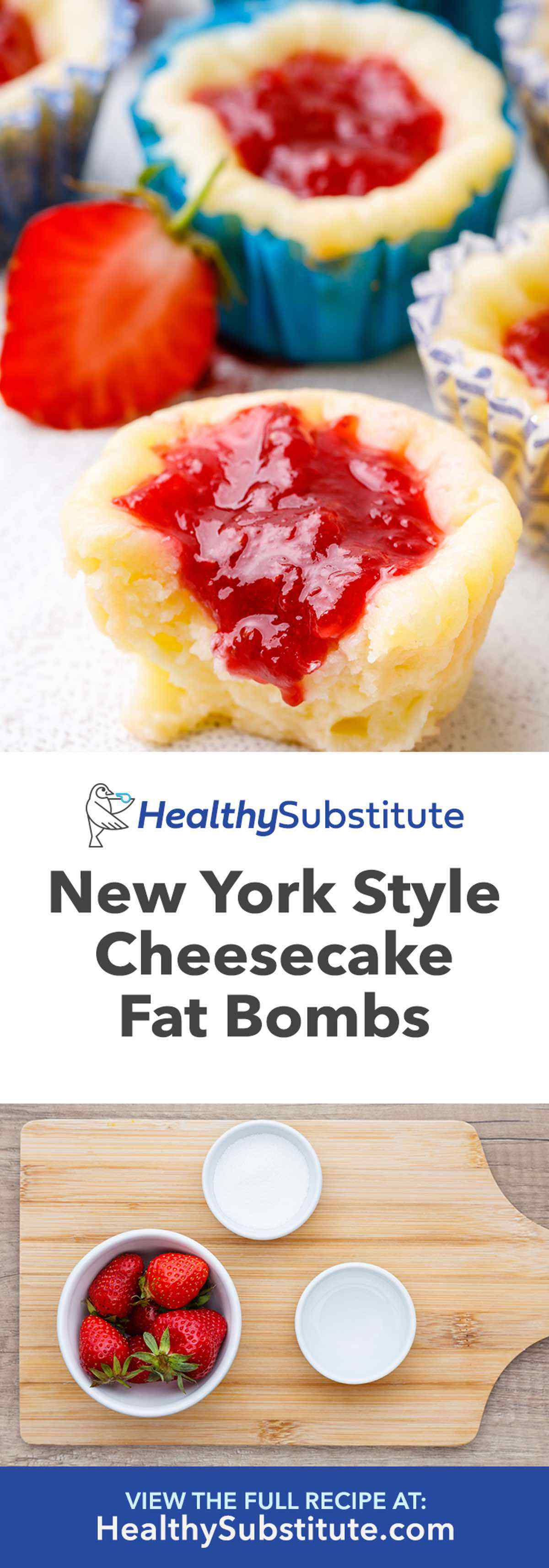 New York Style Cheesecake Fat Bombs