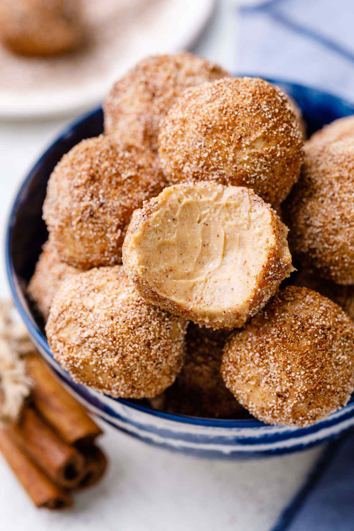 Quick and Easy Snickerdoodle Fat Bombs - Healthy Substitute