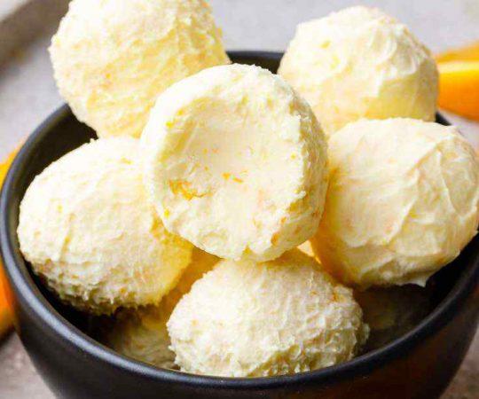 Orange Creamsicle Keto Fat Bombs