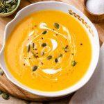 Bone Broth Butternut Squash Soup