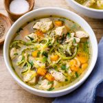 Bone Broth Chicken Noodle Soup