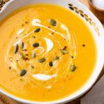 Bone Broth Butternut Squash Soup