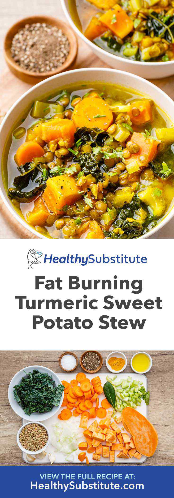 This is the best turmeric sweet potato stew (and it's so healthy!).