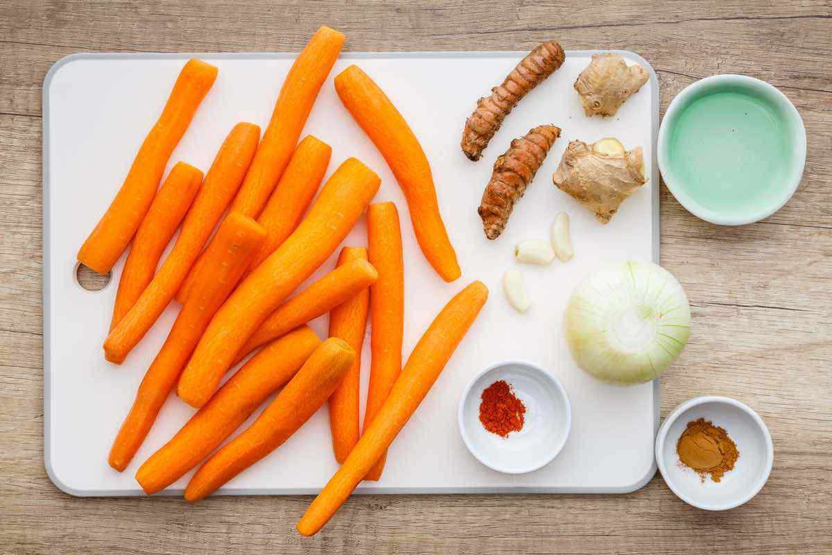 Turmeric Carrot Soup for Skin
