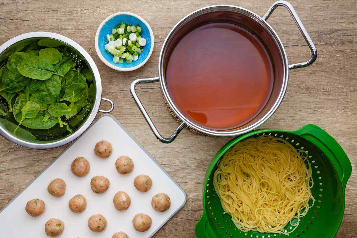 Turmeric Meatball Soup