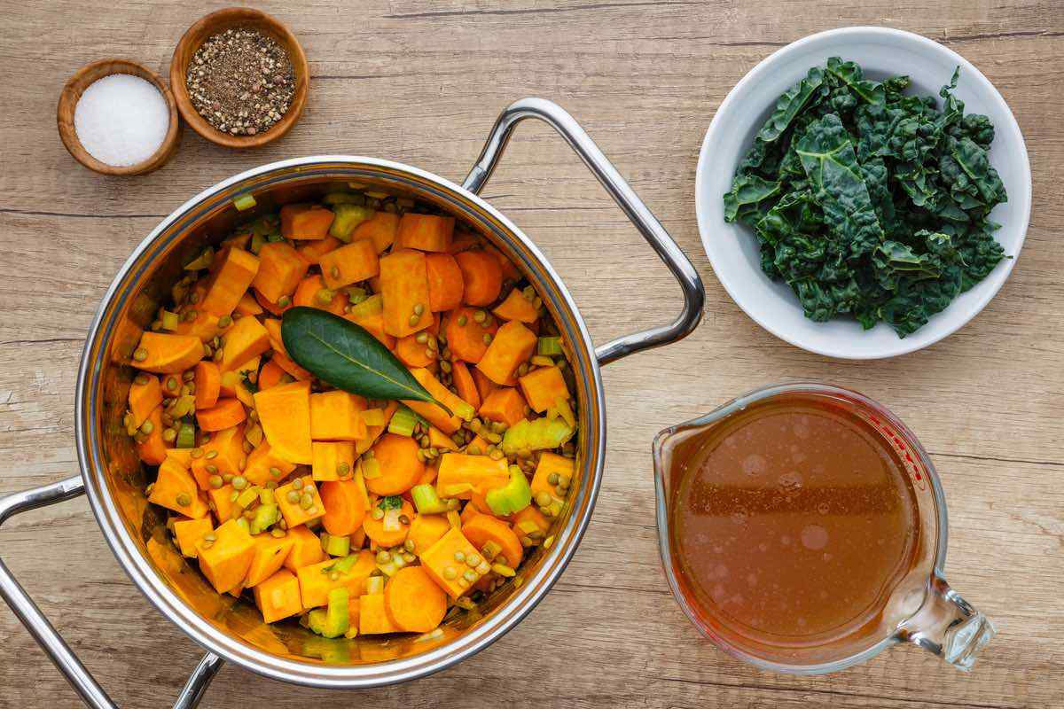Turmeric Sweet Potato Stew