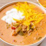 Instant Pot Keto Taco Soup