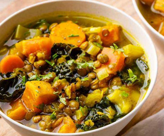 Turmeric Sweet Potato Stew