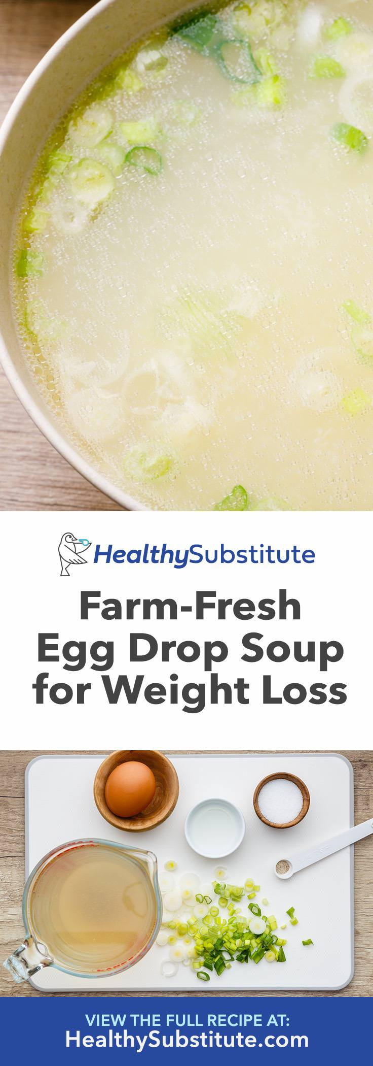 Farm-Fresh Egg Drop Soup for Weight Loss