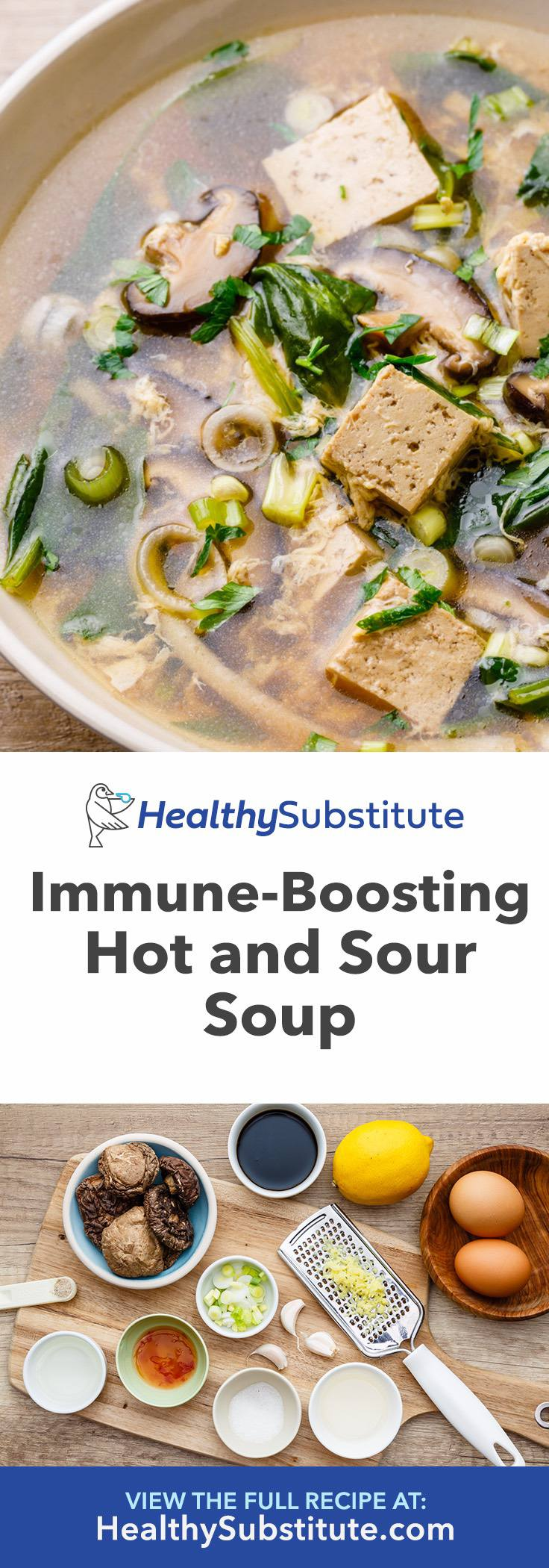 How to Make Immune-Boosting Instant Pot Hot and Sour Soup