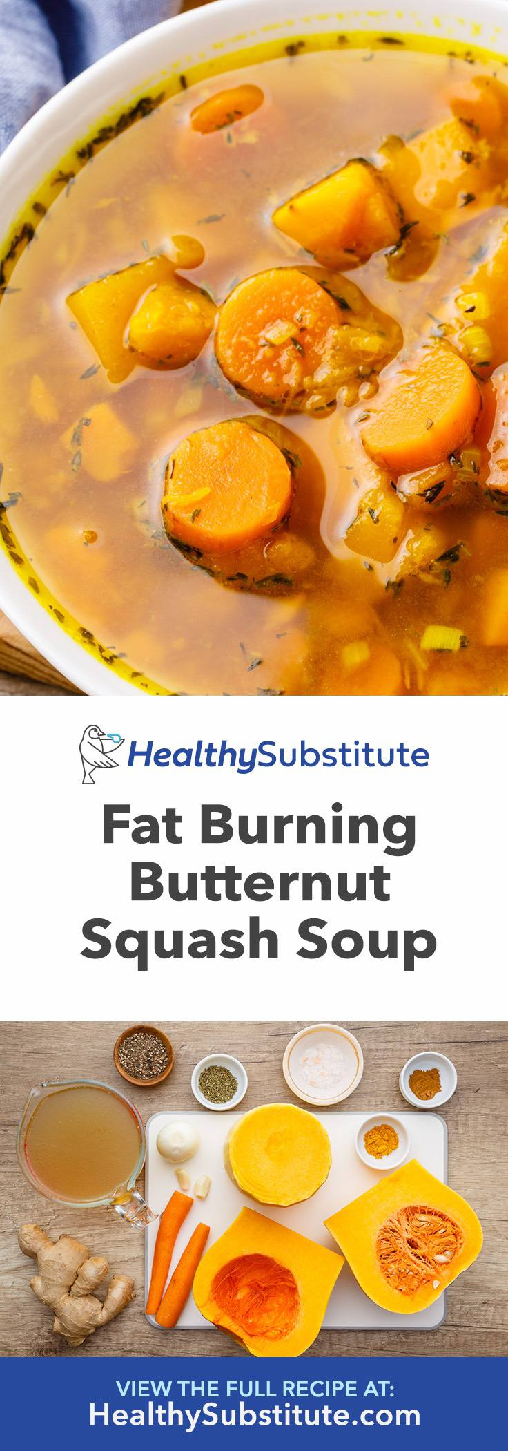 How to Cook Fat Burning Butternut Squash Soup