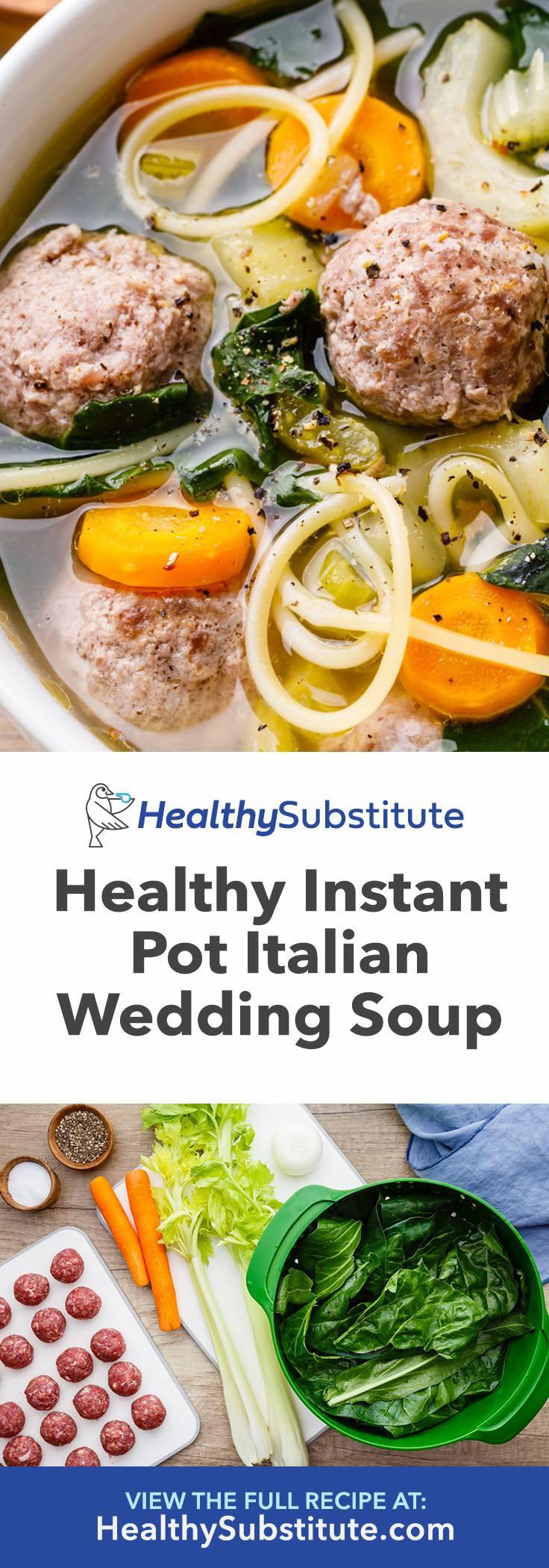 Metabolism Boosting Instant Pot Italian Wedding Soup