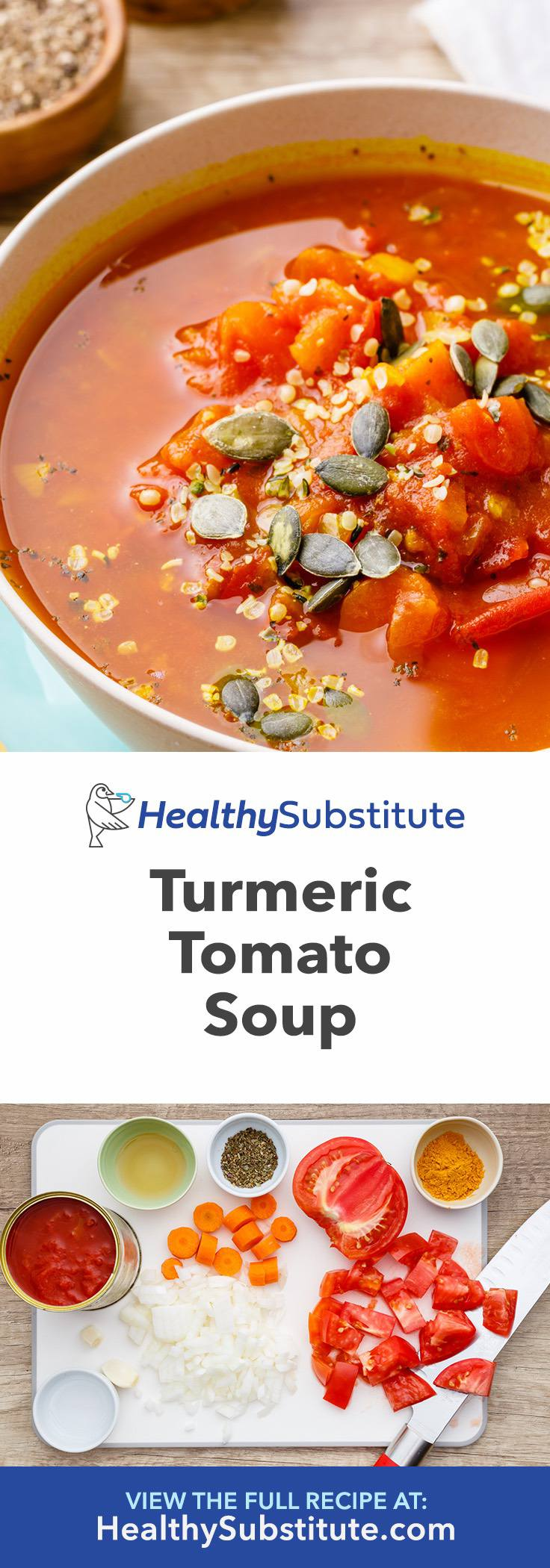 How to Make Turmeric Tomato Soup for Detox and Cleansing