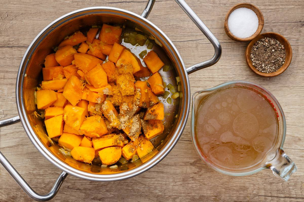 Butternut Squash Soup for Back Pain