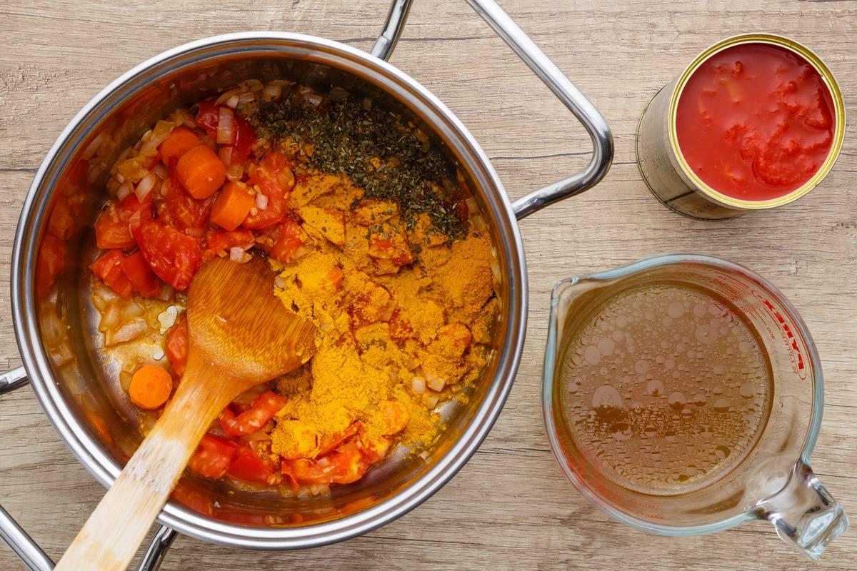 Turmeric Tomato Soup