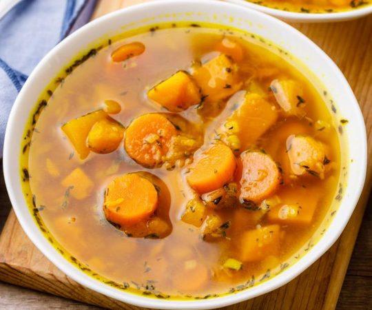 Fat Burning Butternut Squash Soup
