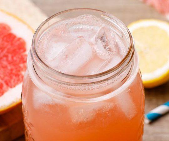 Grapefruit Juice Soda