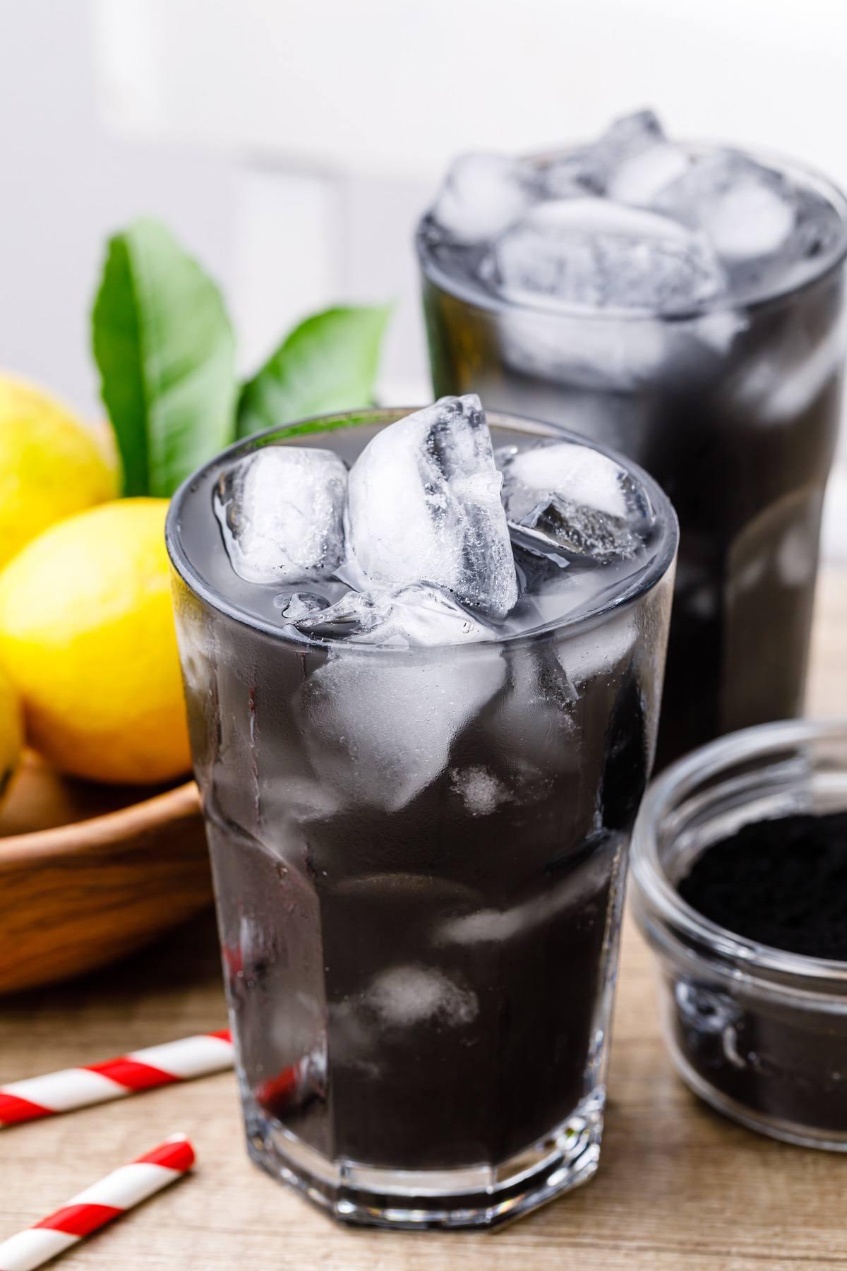 Charcoal Lemonade