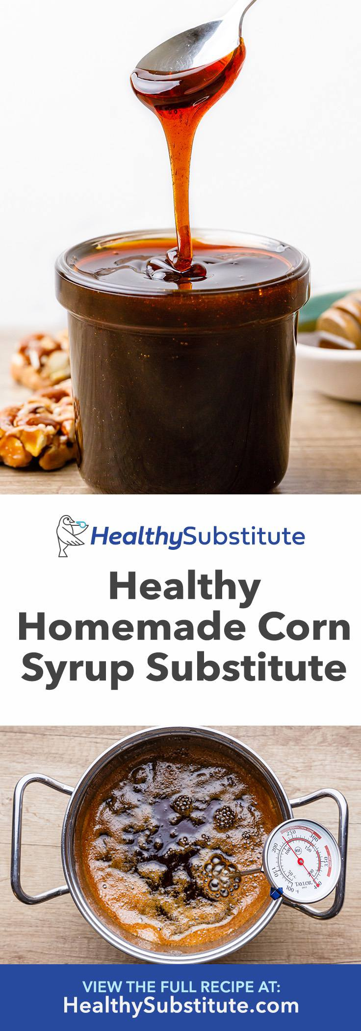 Healthy Homemade Corn Syrup Substitute