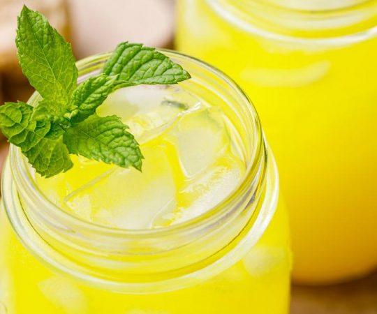 Turmeric Ginger Lemonade