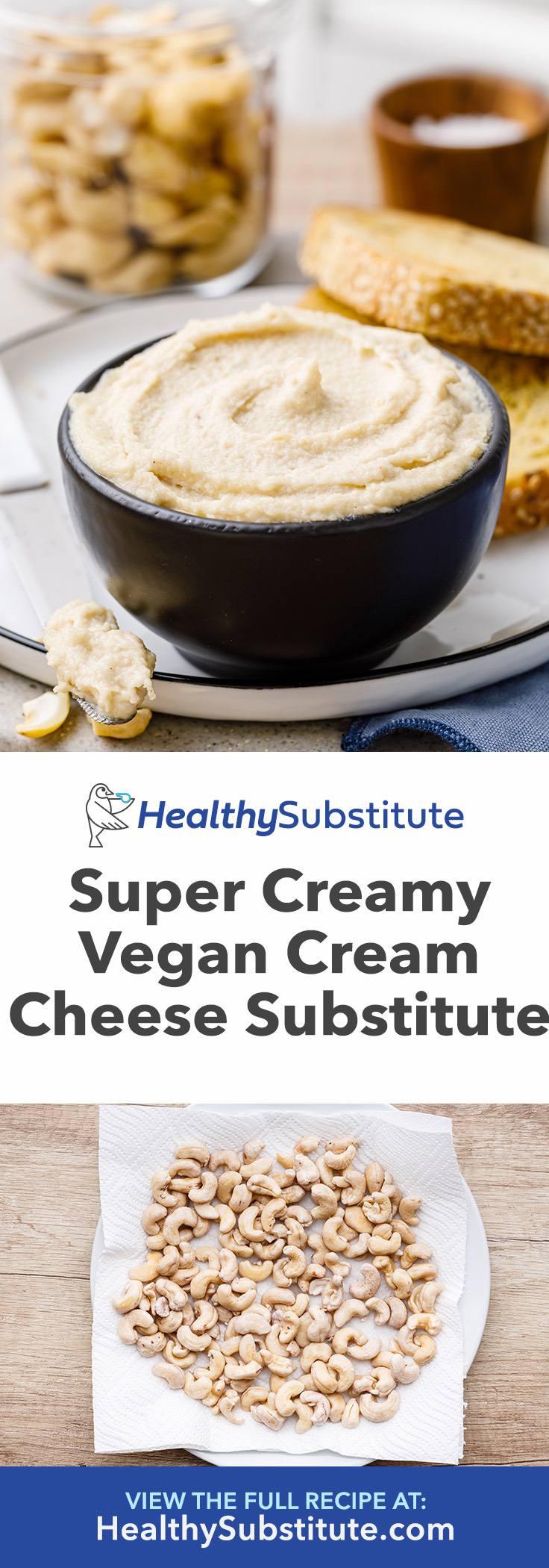 Super Creamy Vegan Cream Cheese Substitute