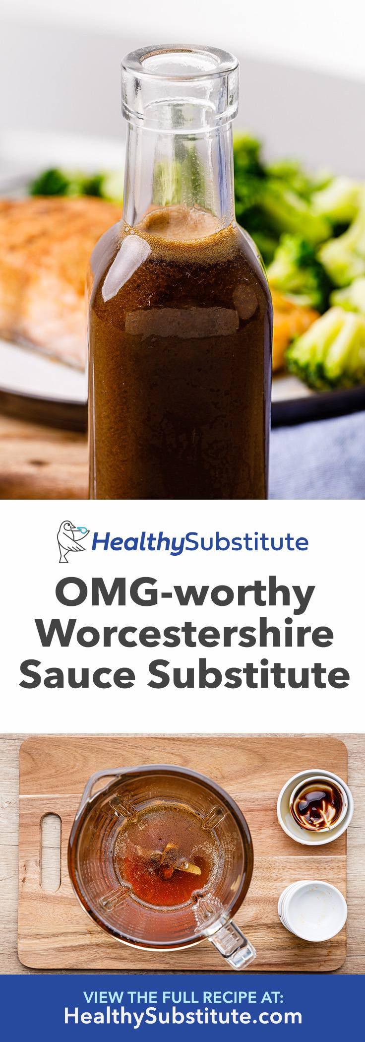The Best Worcestershire Sauce Substitute